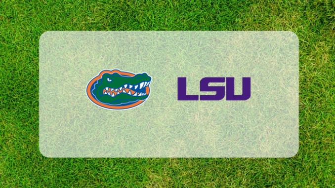 Florida and LSU logos