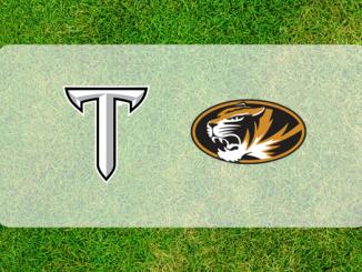 Troy and Missouri logos
