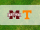 Mississippi State and Tennessee logos