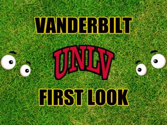 Eyes on UNLV logo