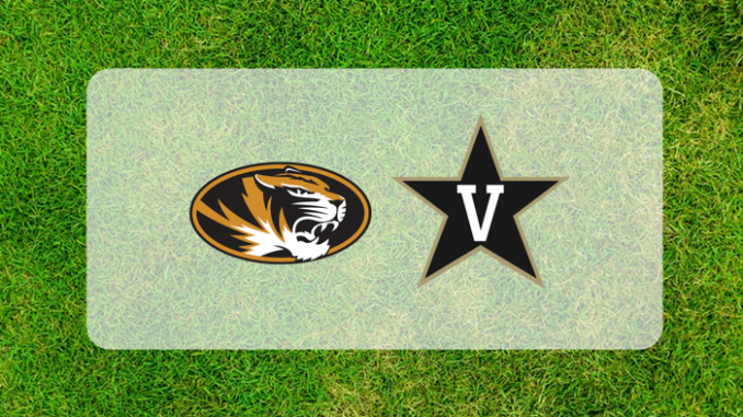 Missouri and Vanderbilt logos