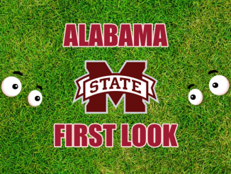 Eyes on Mississippi State logo