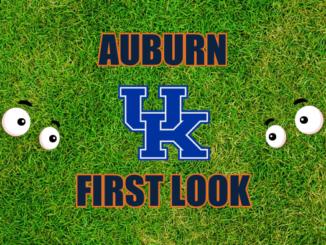 Auburn First look Kentucky