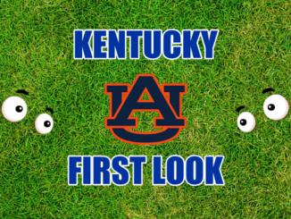 Kentucky First look Auburn