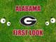 Alabama first-look Georgia