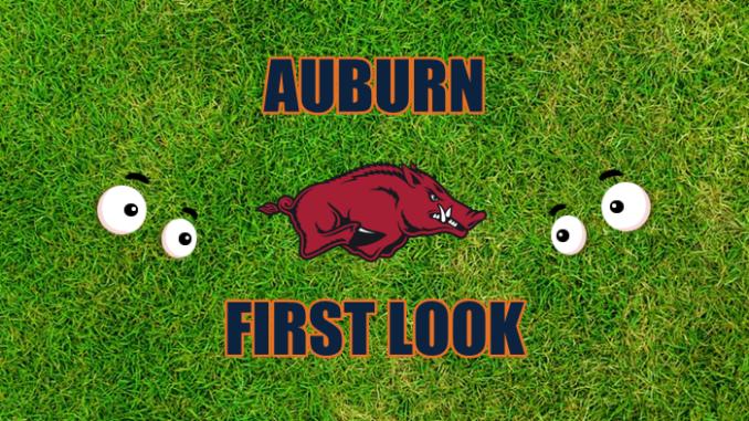 Auburn First Look Arkansas