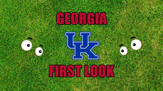 Georgia First-look Kentucky