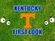 Kentucky First-look Tennessee