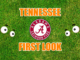Tennessee First-look Alabama