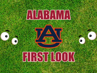 Alabama football first-look Auburn
