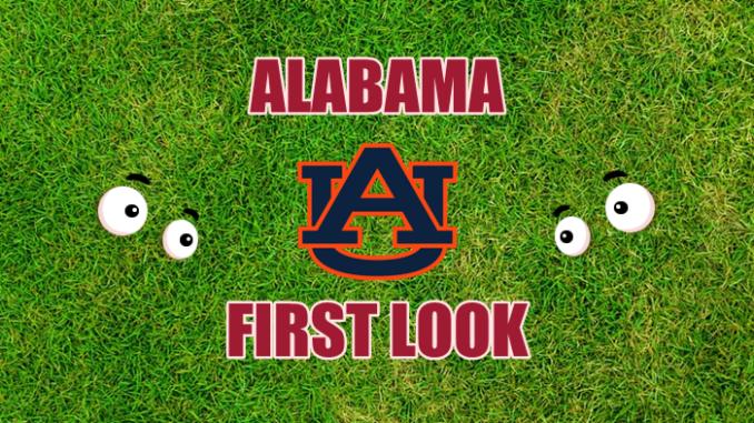 Alabama football first-look Auburn