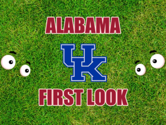 Alabama football first-look Kentucky