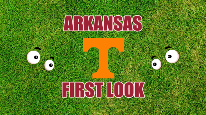 Arkansas First-look Tennessee