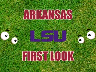 Arkansas football First-look LSU