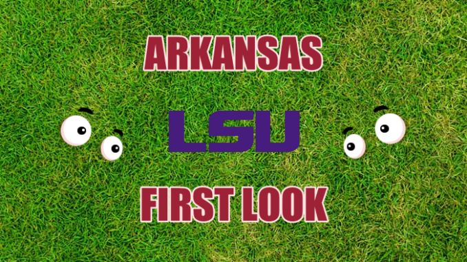 Arkansas football First-look LSU
