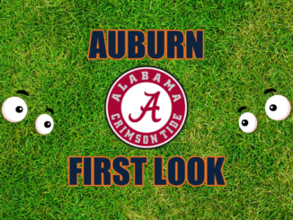 Auburn First-look Alabama.