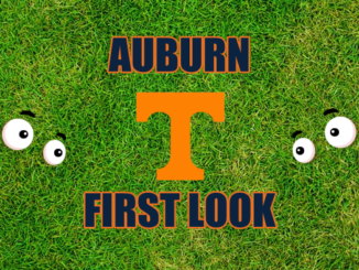 Auburn football First-look Tennessee