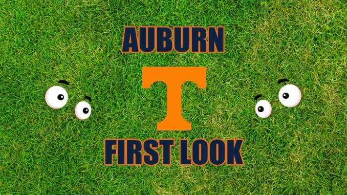 Auburn football First-look Tennessee
