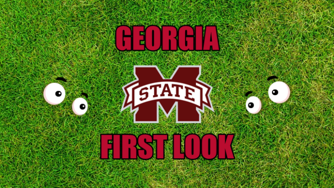 Georgia football first-look Mississippi State