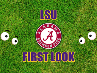 LSU First-look Alabama