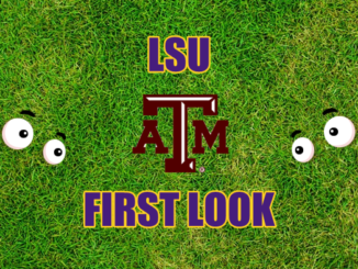LSU First look-Texas A&M