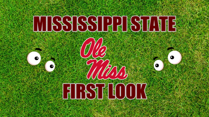 Mississippi State football First look Ole Miss