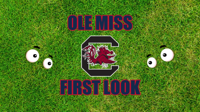 Ole Miss First-look South Carolina