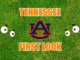 Tennessee football First-look Auburn