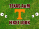 Texas AM First-look Tennessee
