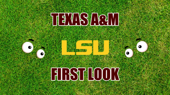 Texas A&M football First-look LSU
