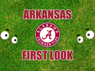 Arkansas football first look Alabama