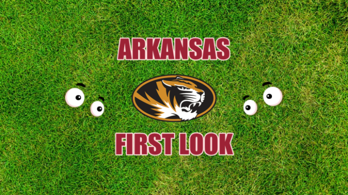 Arkansas football first look Missouri