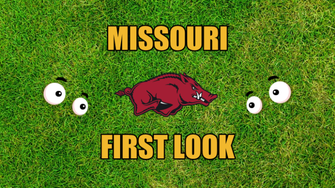 Missouri football First-look Arkansas