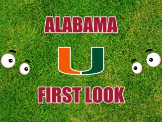 Alabama first look Miami FL