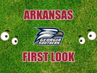 Arkansas First look Georgia Southern