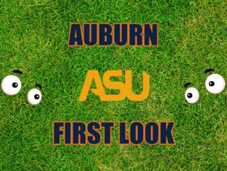 Auburn First look Alabama State