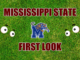Mississippi State First look Memphis