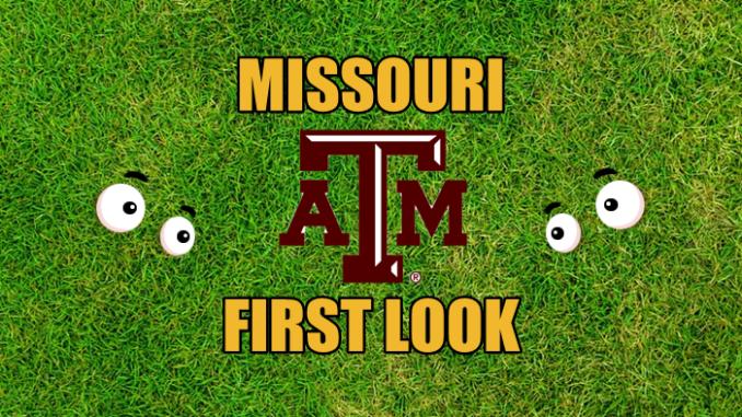Missouri First look Texas A&M