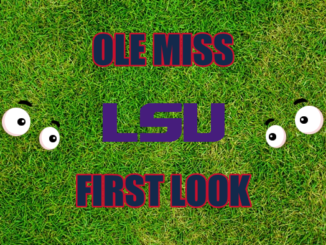 Ole Miss First Look LSU