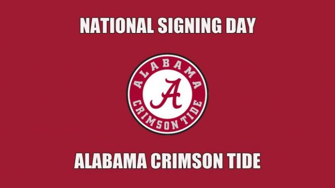 National Signing Day Alabama