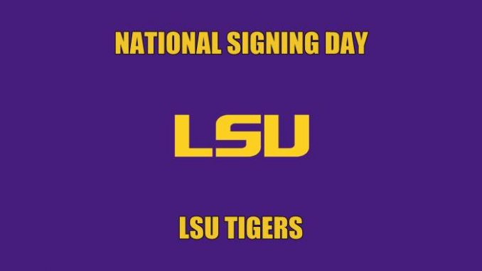 National Signing Day LSU
