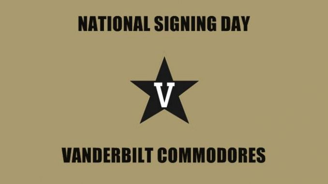 National Signing Day Vanderbilt