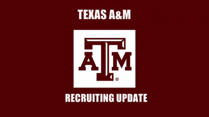 Texas A&M Recruiting Update