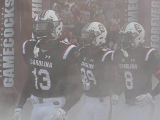 South Carolina football players