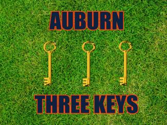 Three keys Auburn