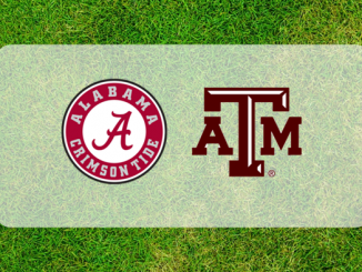 Alabama and Texas A&M logos