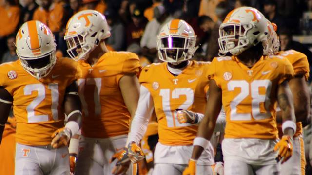 Tennessee football players