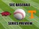 SEC baseball series preview-Tennessee-Arkansas