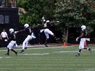 Vanderbilt players celebrate