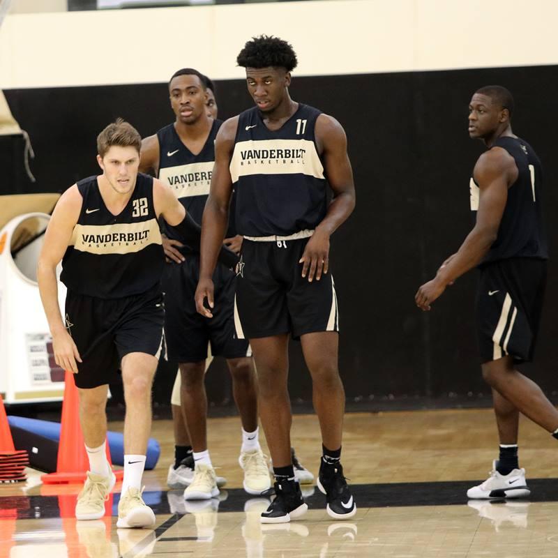 Vanderbilt Basketball Practice 20180926